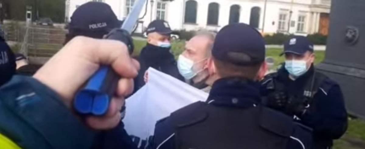 Przed Sądem Najwyższym odbyła się blokada w obronie sędziego Igora Tulei.
