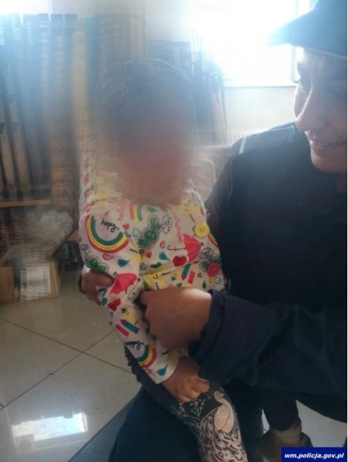 Dziecko znalezione w Olsztynie