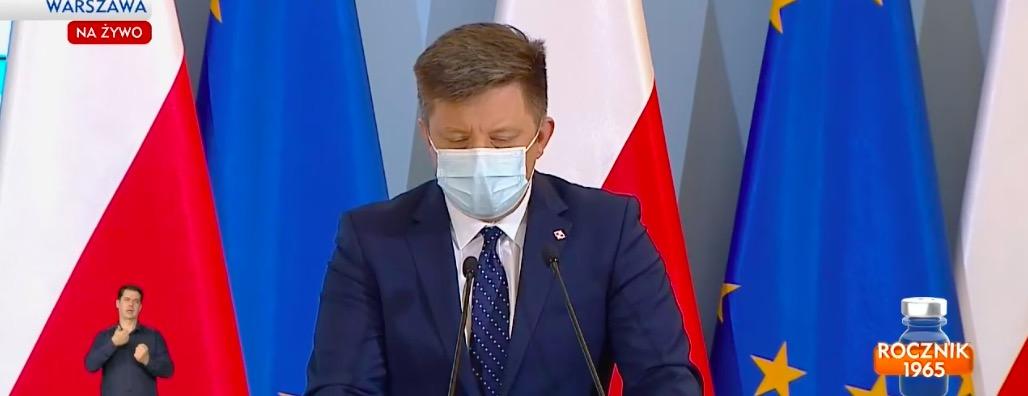 Zwołana została konferencja ministra Michała Dworczyka