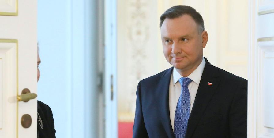 Andrzej Duda otrzymał list z gratulacjami w związku ze świętem Konstytucji 3 maja