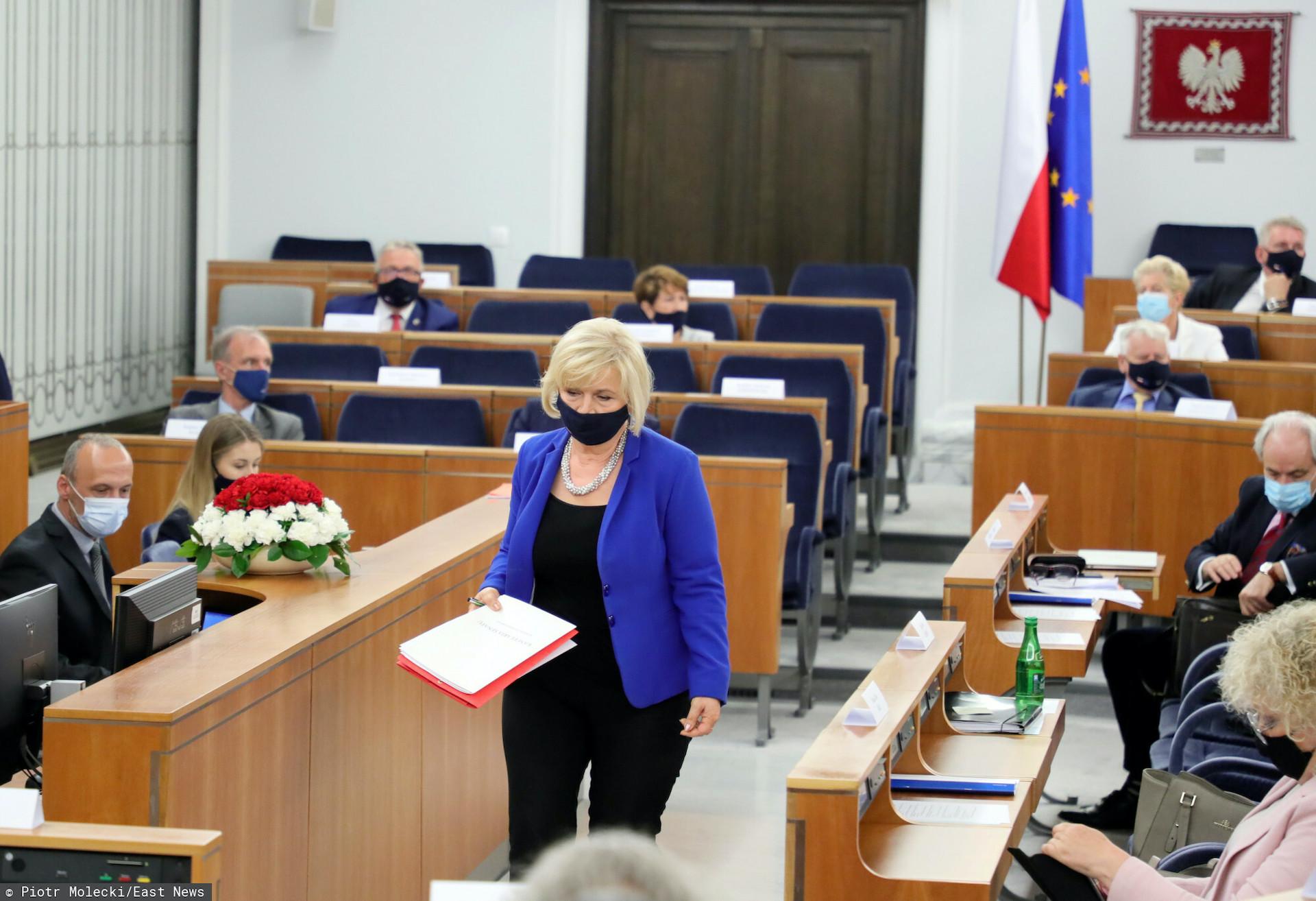 Krytyczne głosy polityków na temat kandydatury, jak i samej osoby Lidii Staroń