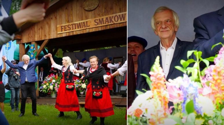 Świętokrzyski Festiwal Smaków, gdzie gościł Ryszard Terlecki, pod lupą służ