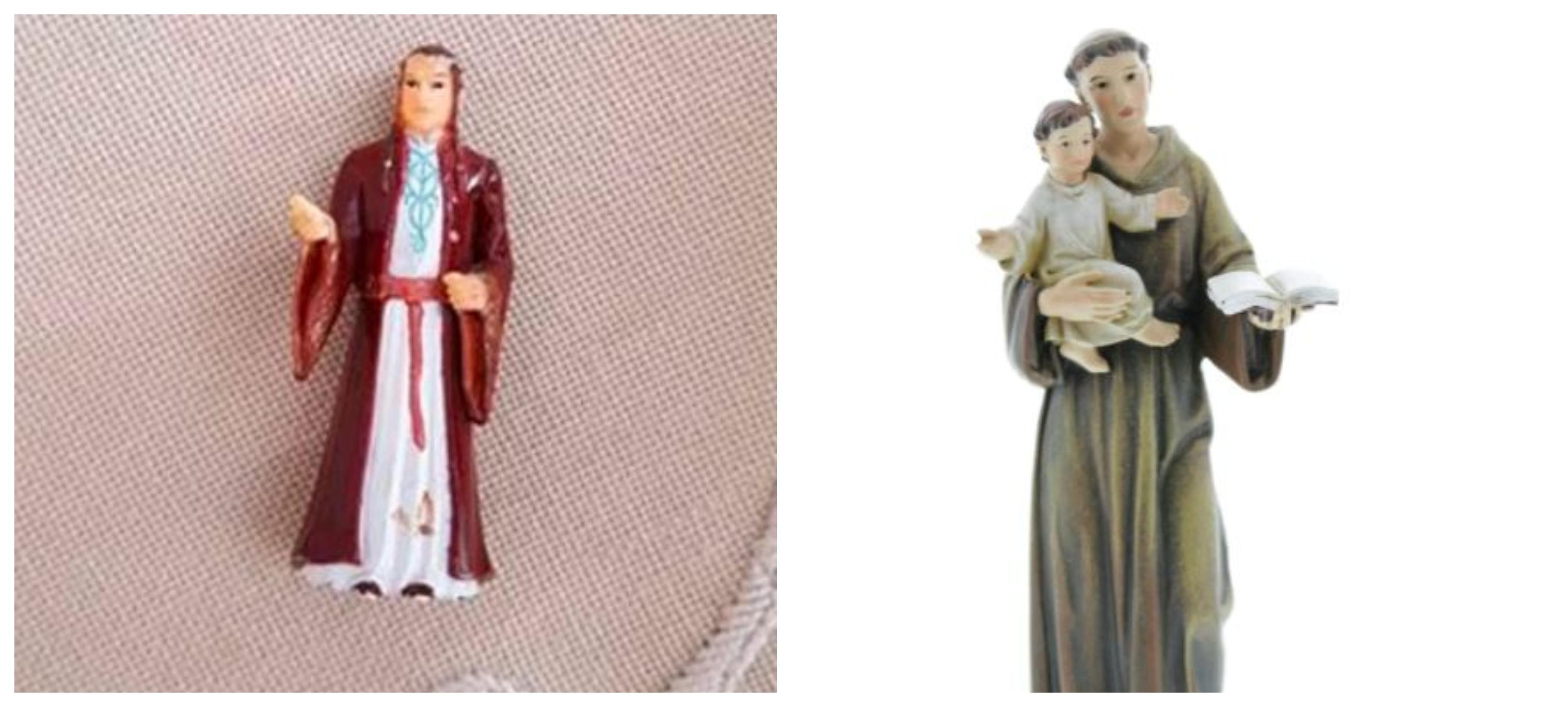 """Babcia omyłkowo modliła się do figurki Elronda, postaci znanej z """"Władcy Pierścieni""""."""