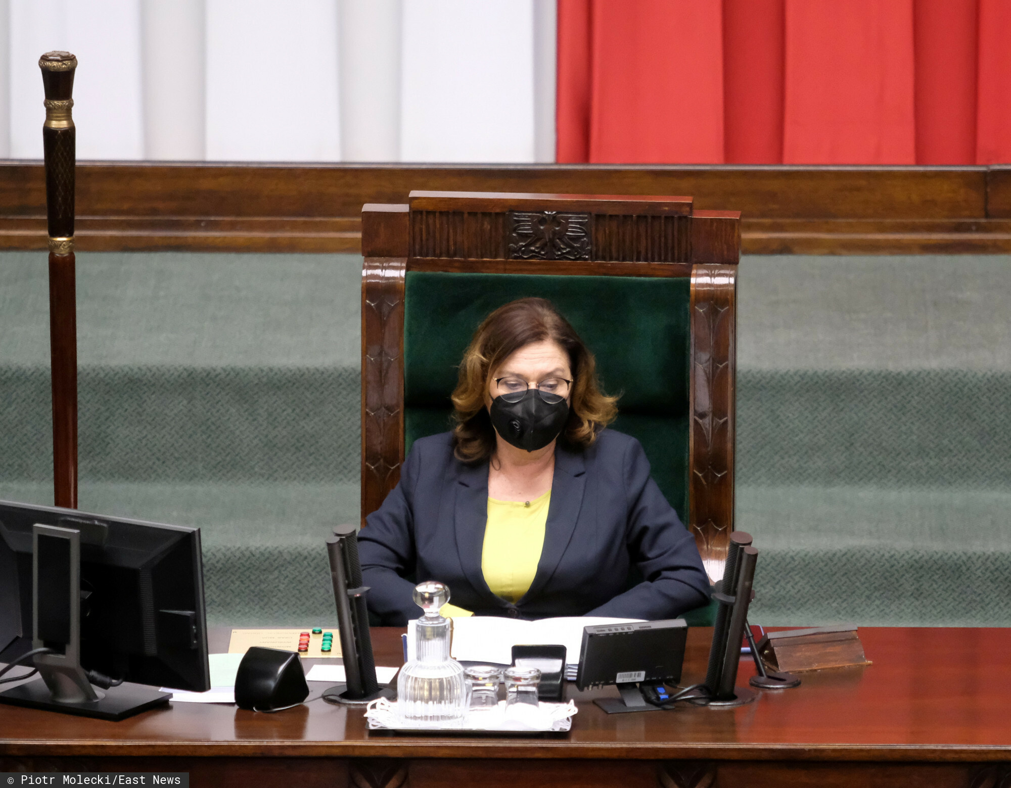 Kidawa-Błońska chora