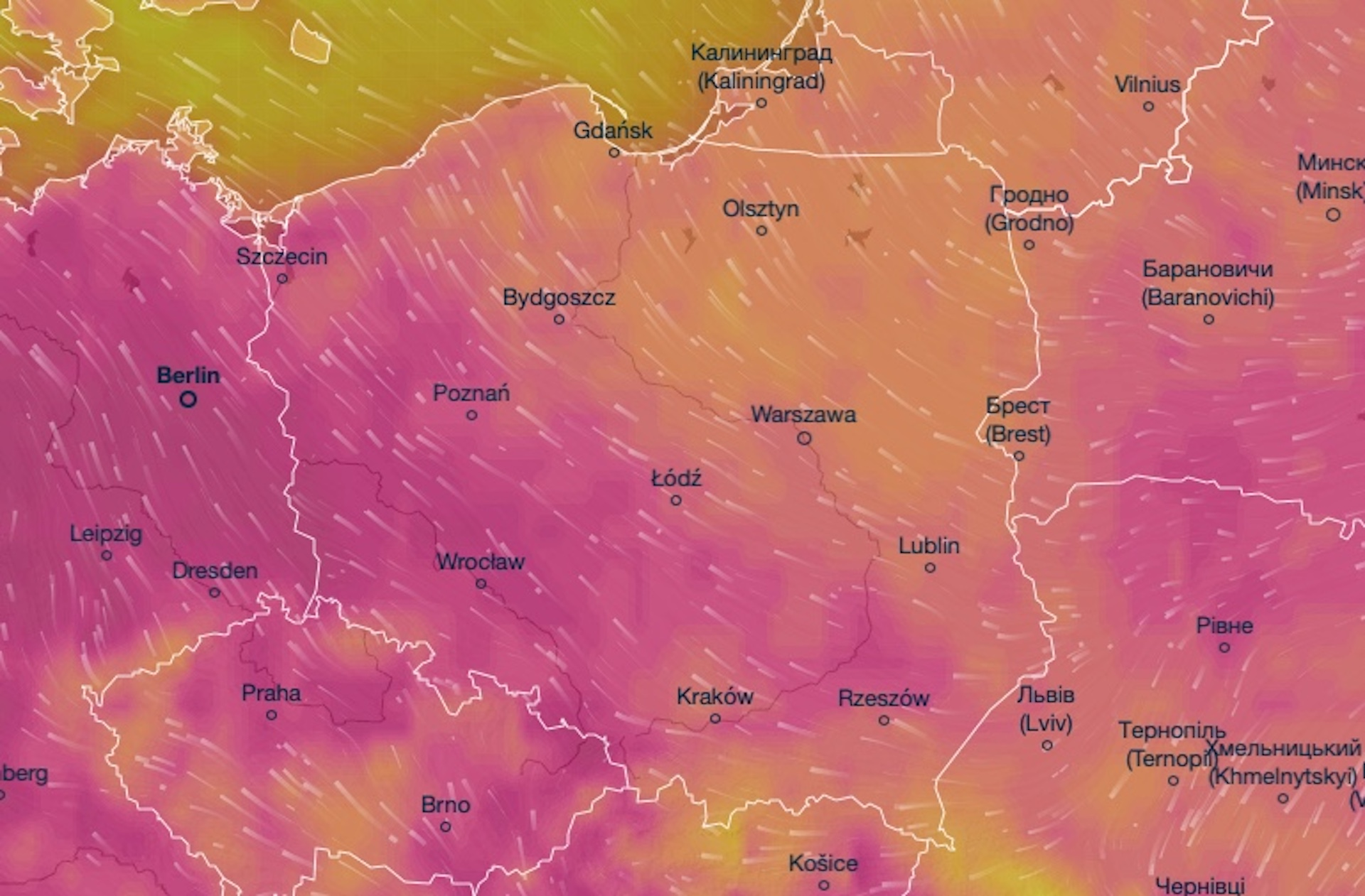 Ostrzeżenia IMGW w związku ze wzrostem temperatury w fali upałów