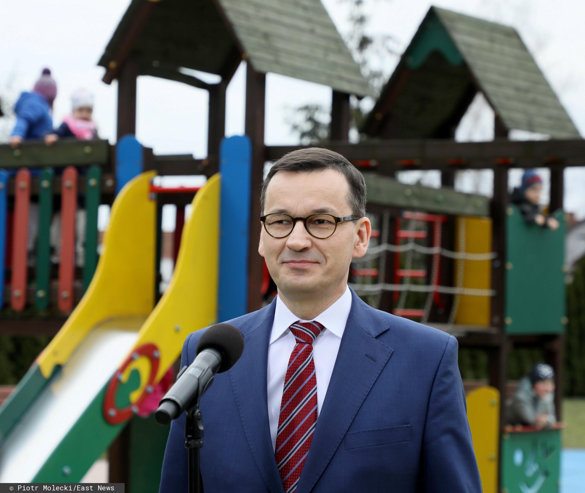 Mateusz Morawiecki zapowiedział zmiany w 500 plus