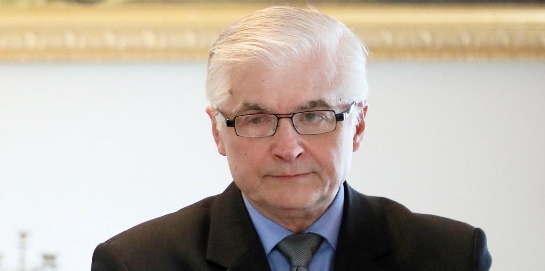 Włodzimierz Cimoszewicz zabiera głos
