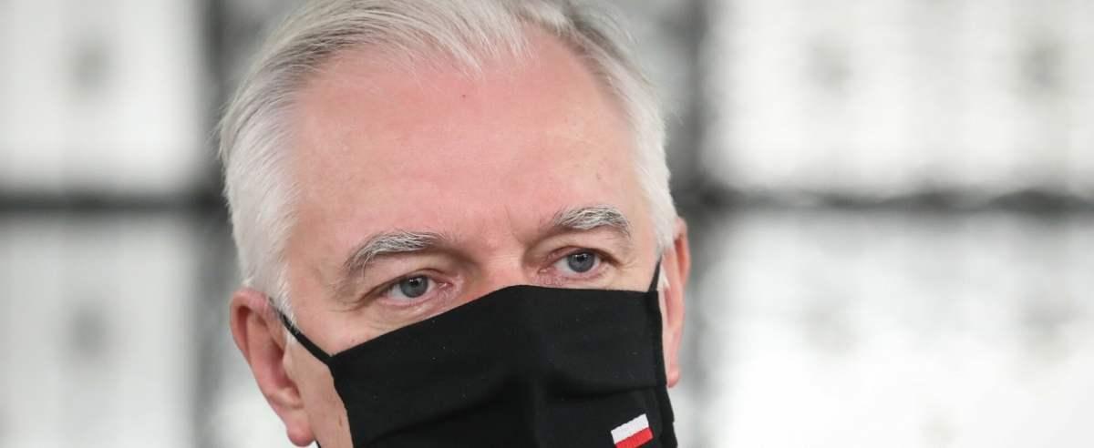 Wicepremier Jarosław Gowin wypowiedział się na temat znoszenia obostrzeń.
