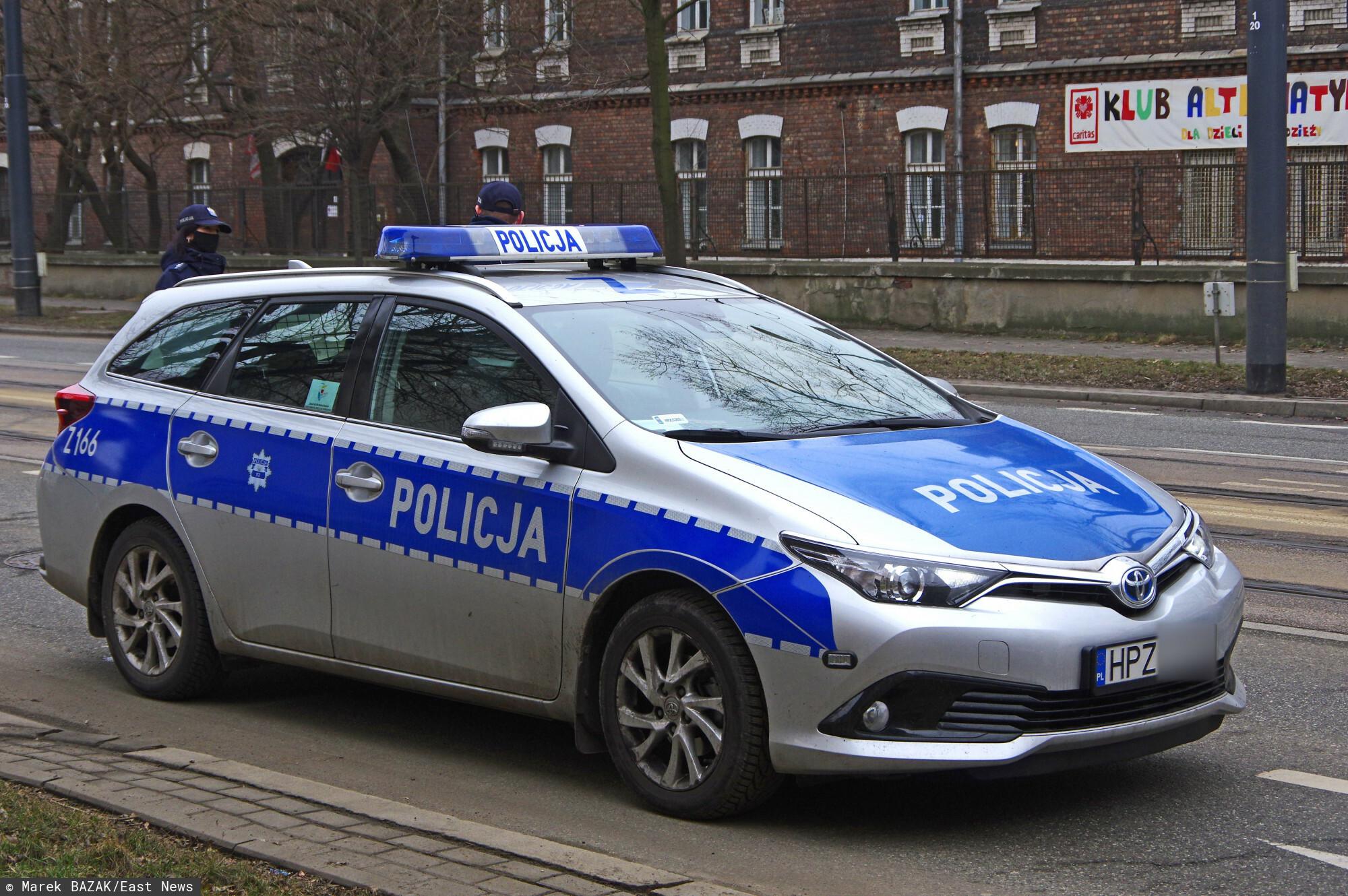 Skandal w policji
