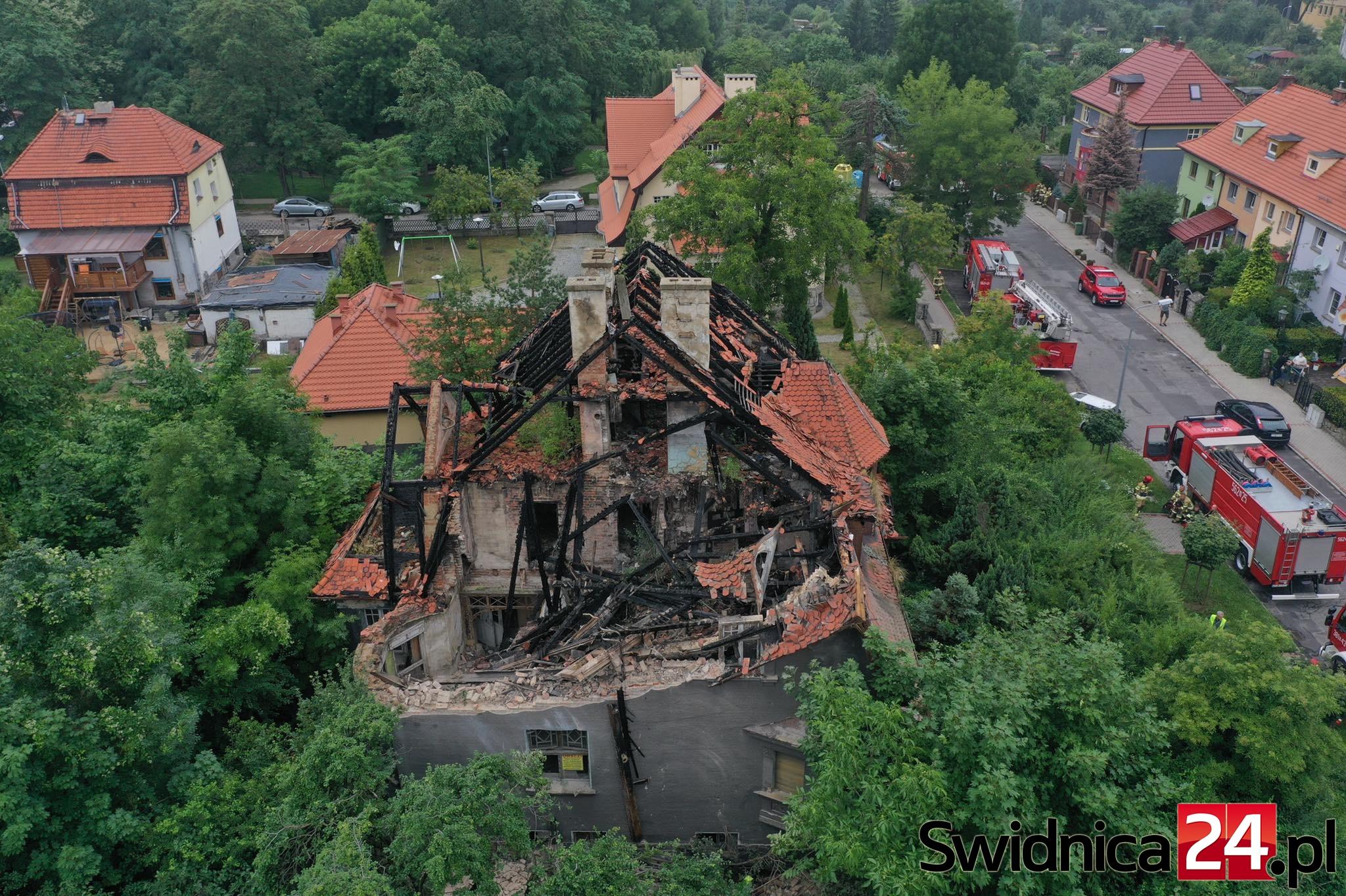 dolny śląsk - katastrofa budowlana