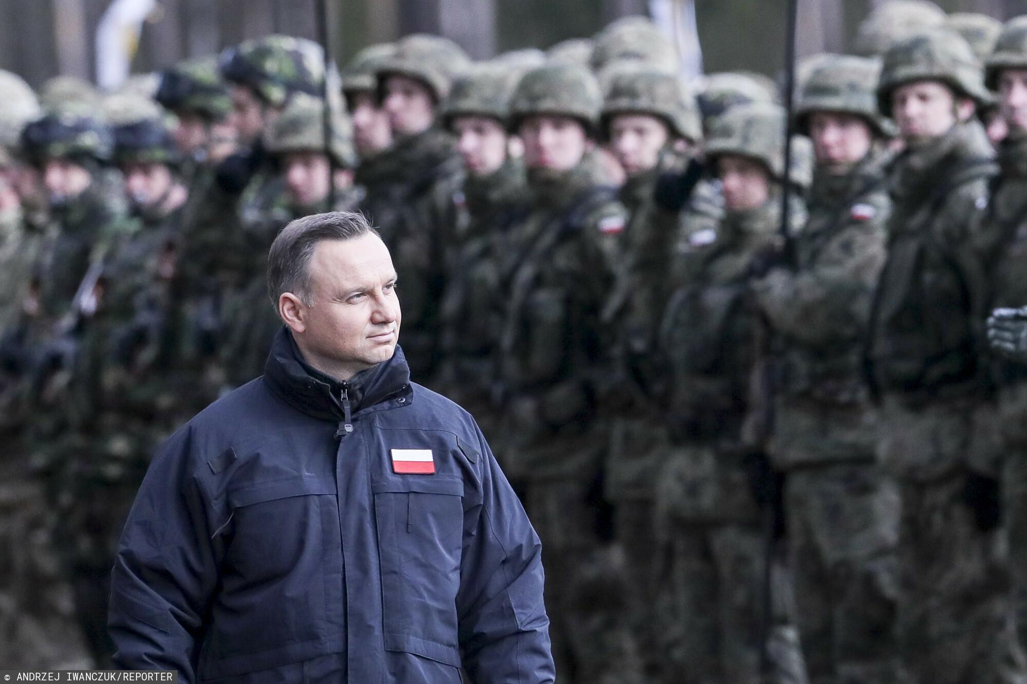 Andrzej Duda ogłasza
