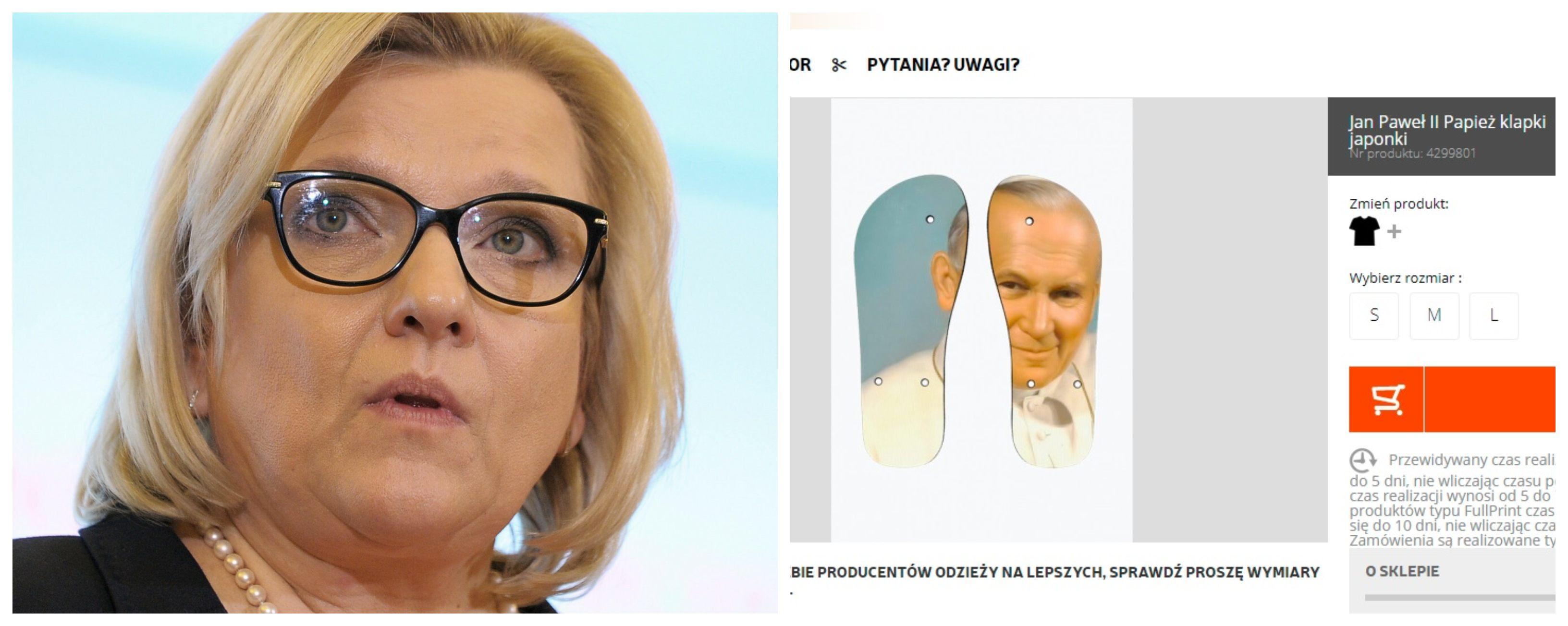 Beata Kempa i klapki