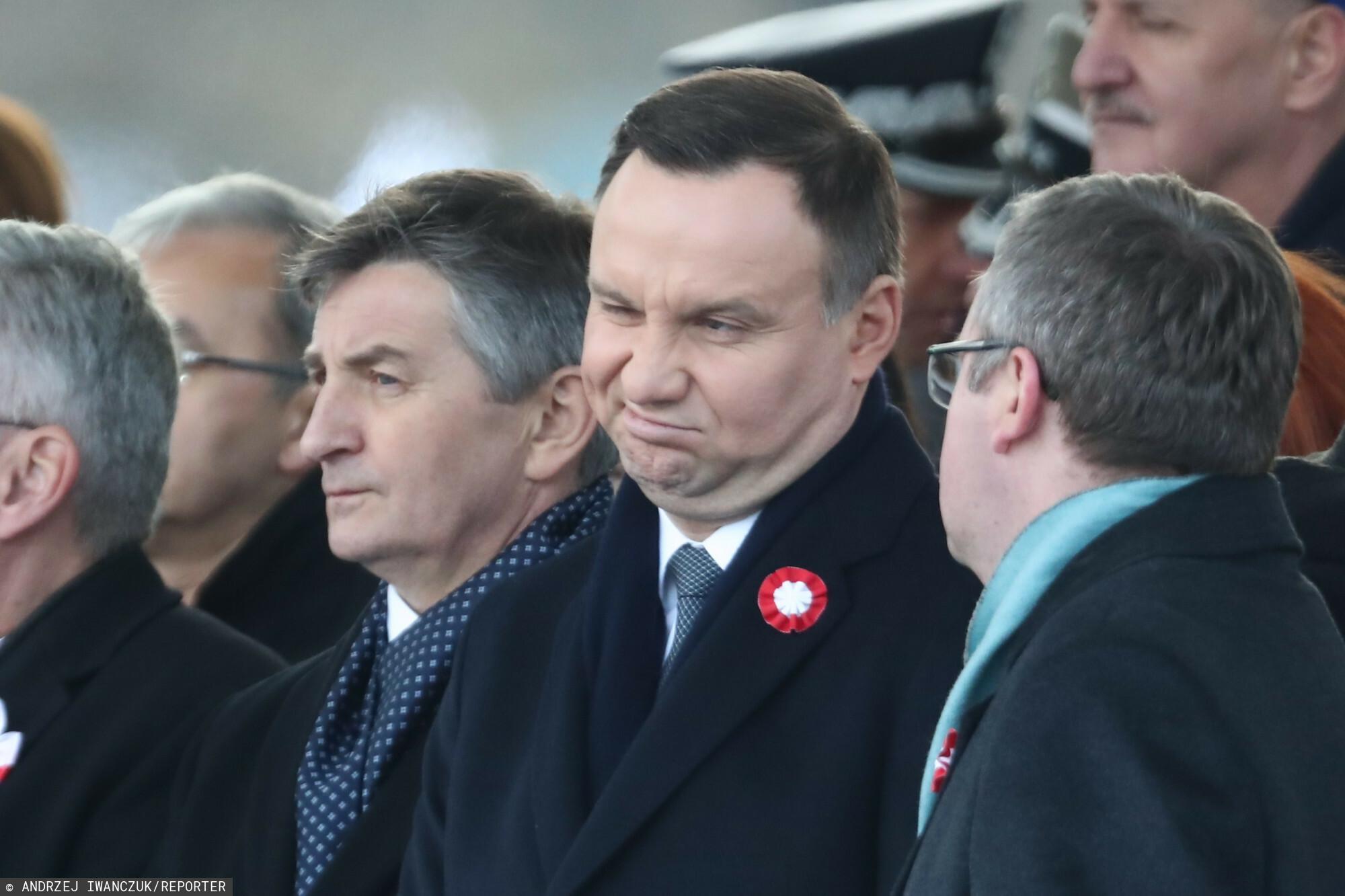 Andrzej Duda popełnił błąd