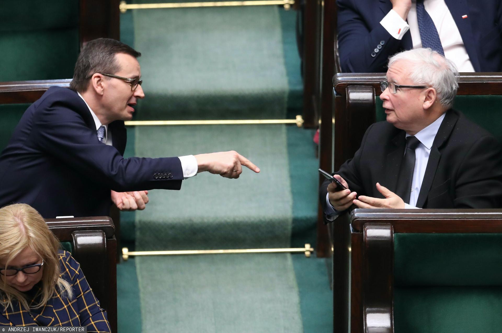 Premier Mateusz Morawiecki komentuje ewentualną dymisję Jarosława Kaczyńskiego