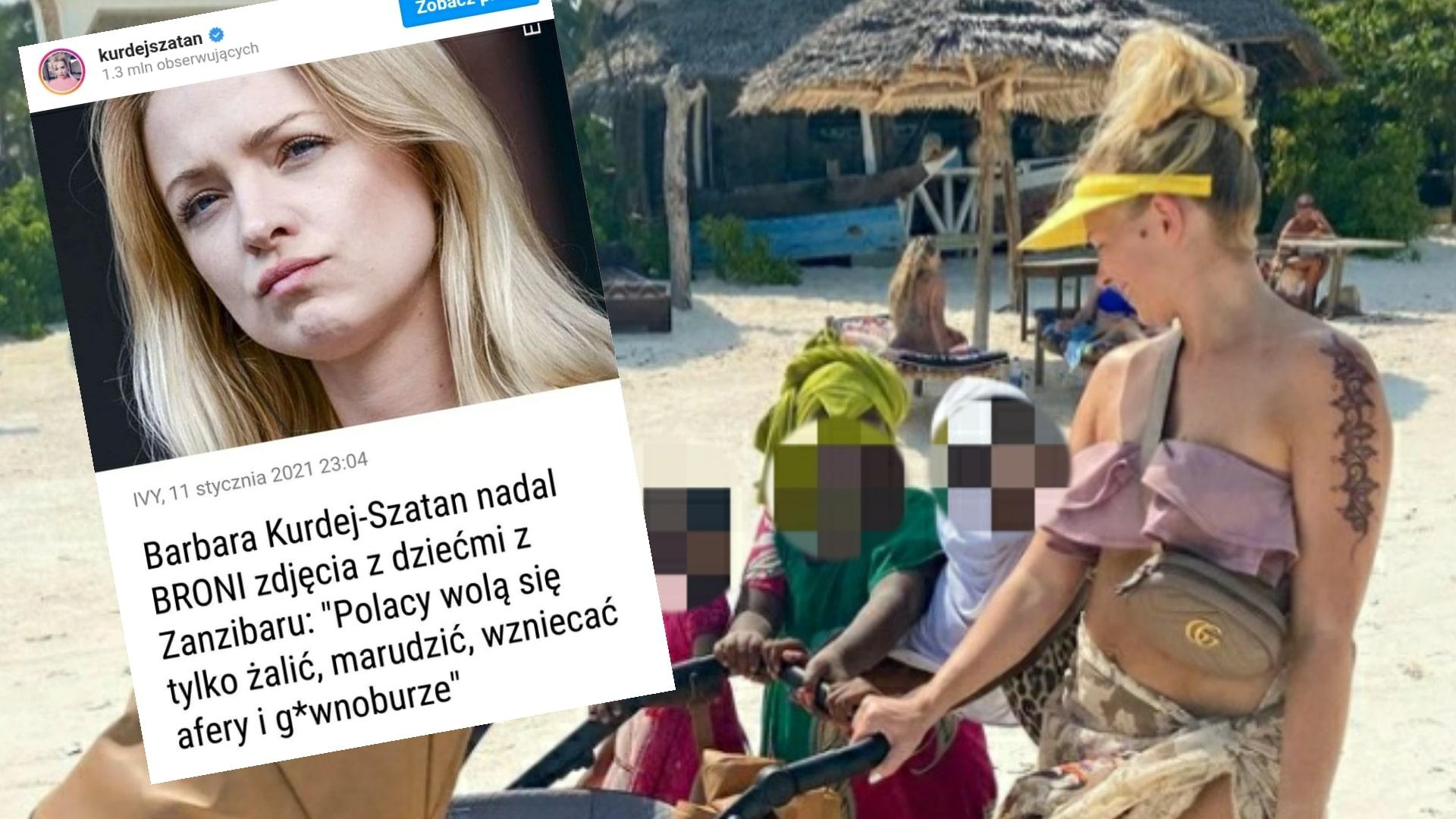 Instagram Barbary Kurdej-Szatan