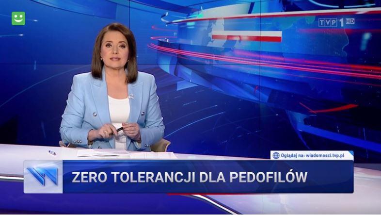 wiadomości tvp - zero toleracji dla pedofilów