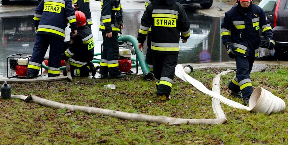 Pracowity weekend strażaków w całym kraju