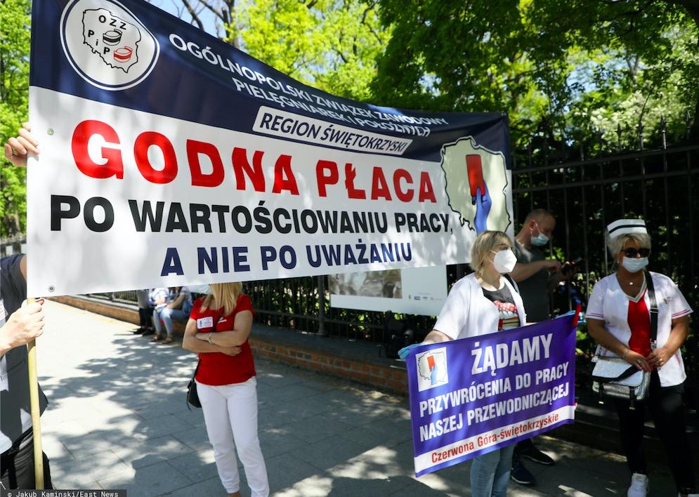Już 7 czerwca rozpocznie się ostrzegawczy strajk pielęgniarek