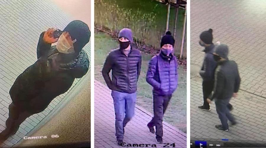 Polska Policja poszukuje dwóch złodziejów, którzy wtargnęli do mieszkania stołecznych funkcjonariuszy