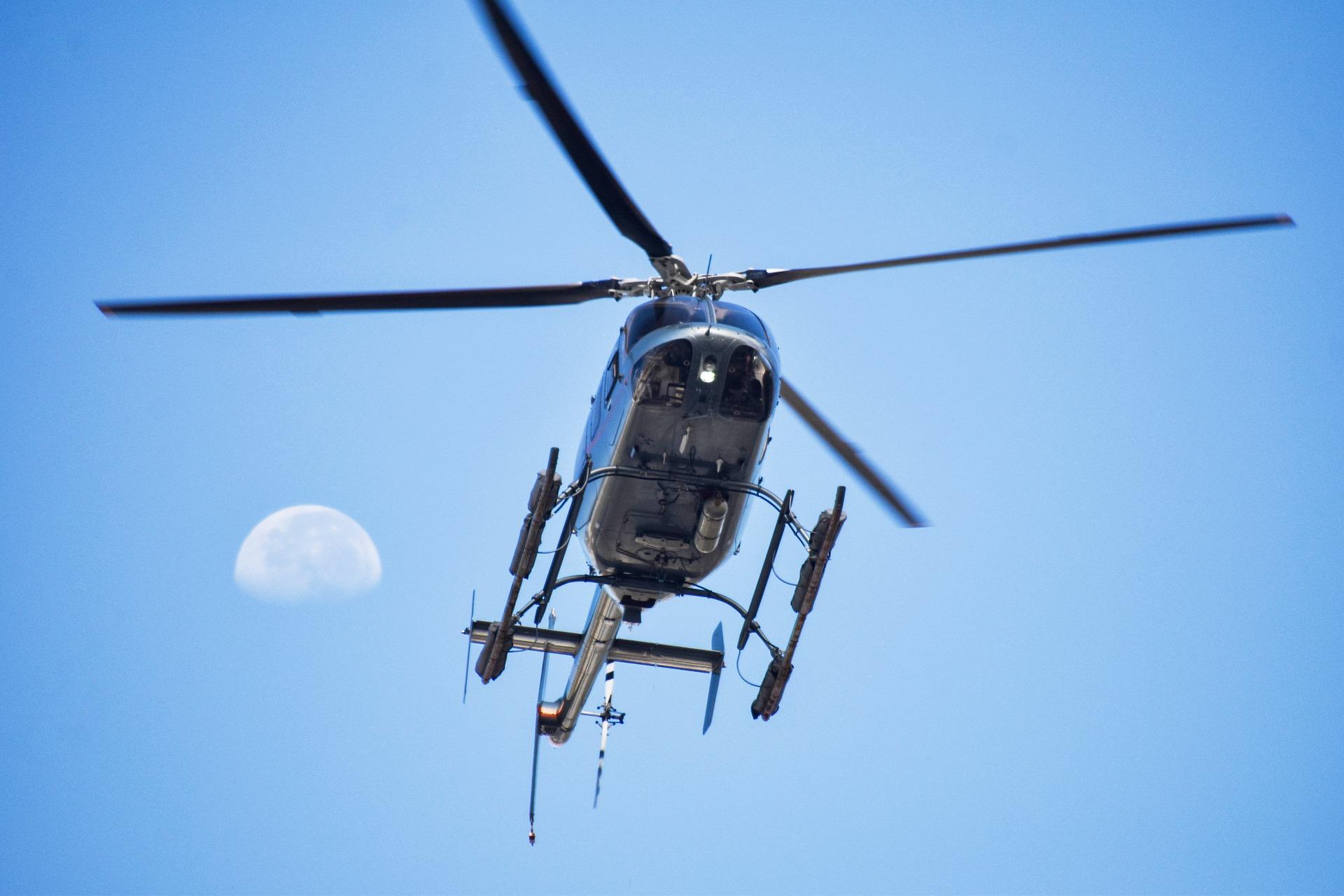 Wypadek helikoptera