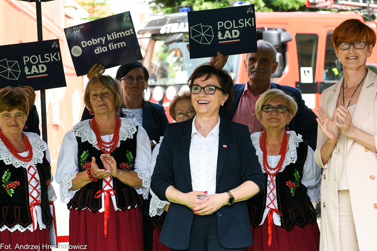 elżbieta witek - polski ład