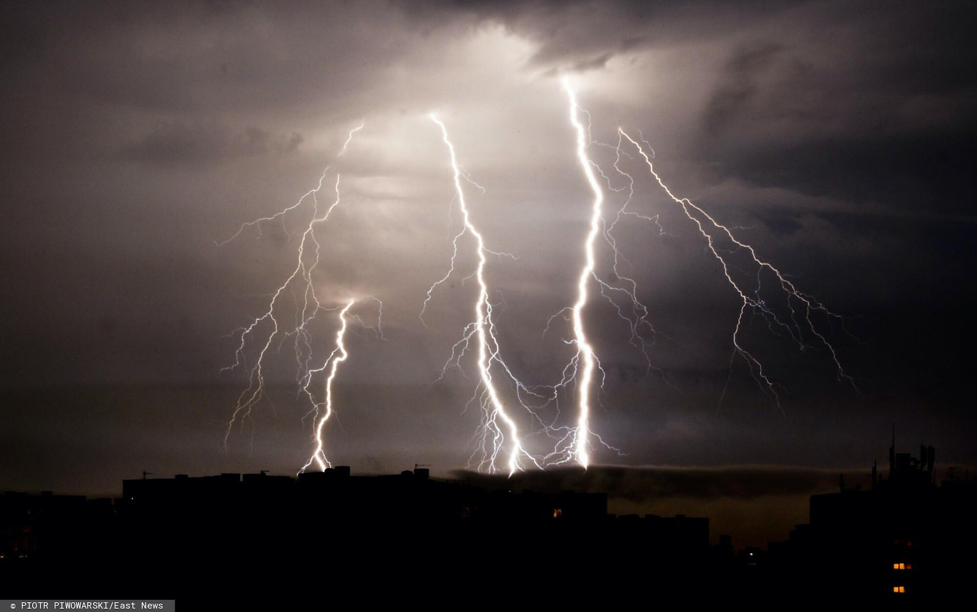 Silna burza w Janowie Lubelskim