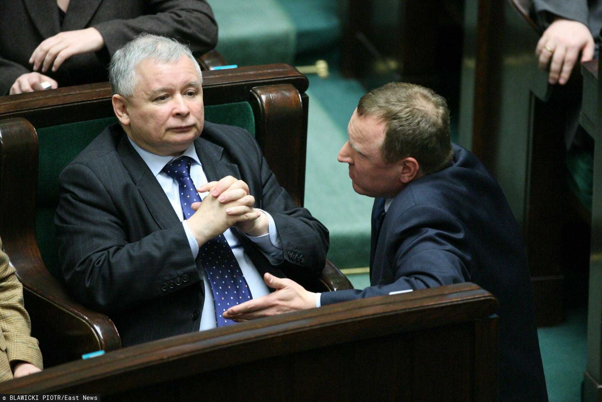 Jacek Kurski miał się ubiegać o stanowisko w rządzie.