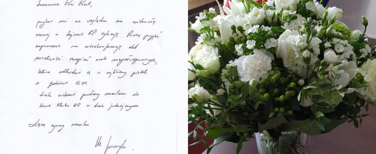 Kwiaty dla Iwony Hartwich