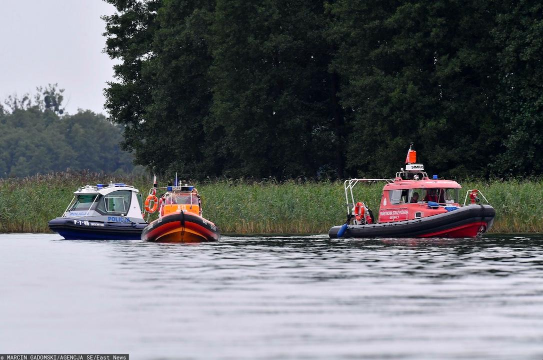 Z jeziora w Boszkowie wyłowiono ciało mężczyzny