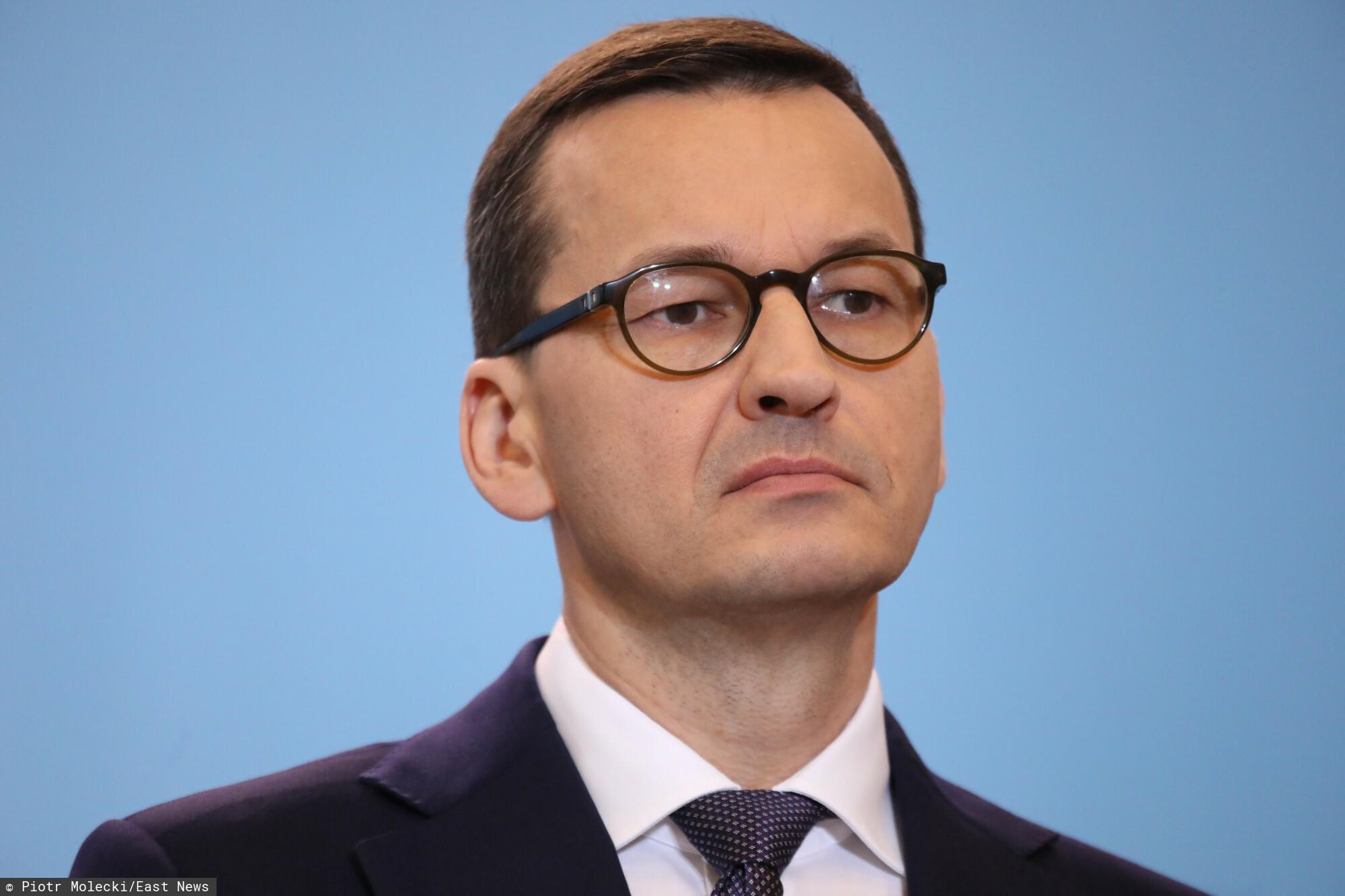 Mateusz Morawiecki żegna Witolda Aszuraka