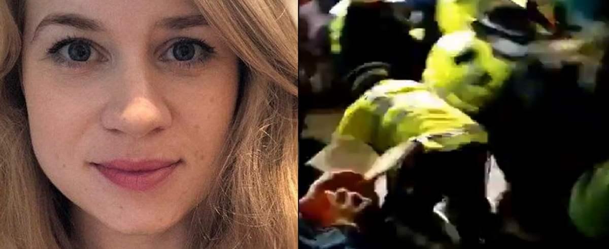 Sarah Everard i policja na czuwaniu w jej hołdzie