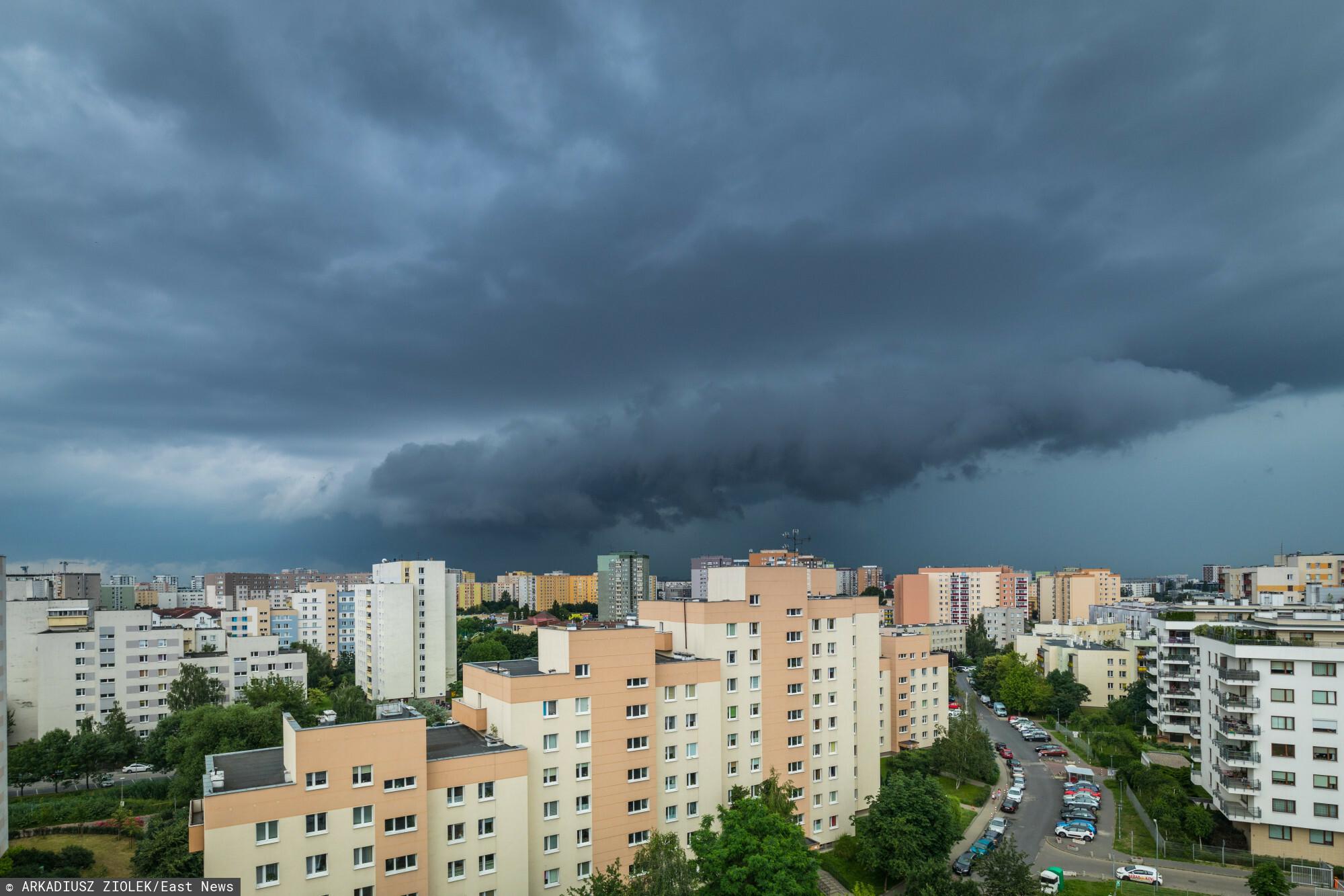 IMGW przekazało informacje o superkomórkę burzowej w okolicach Lublina