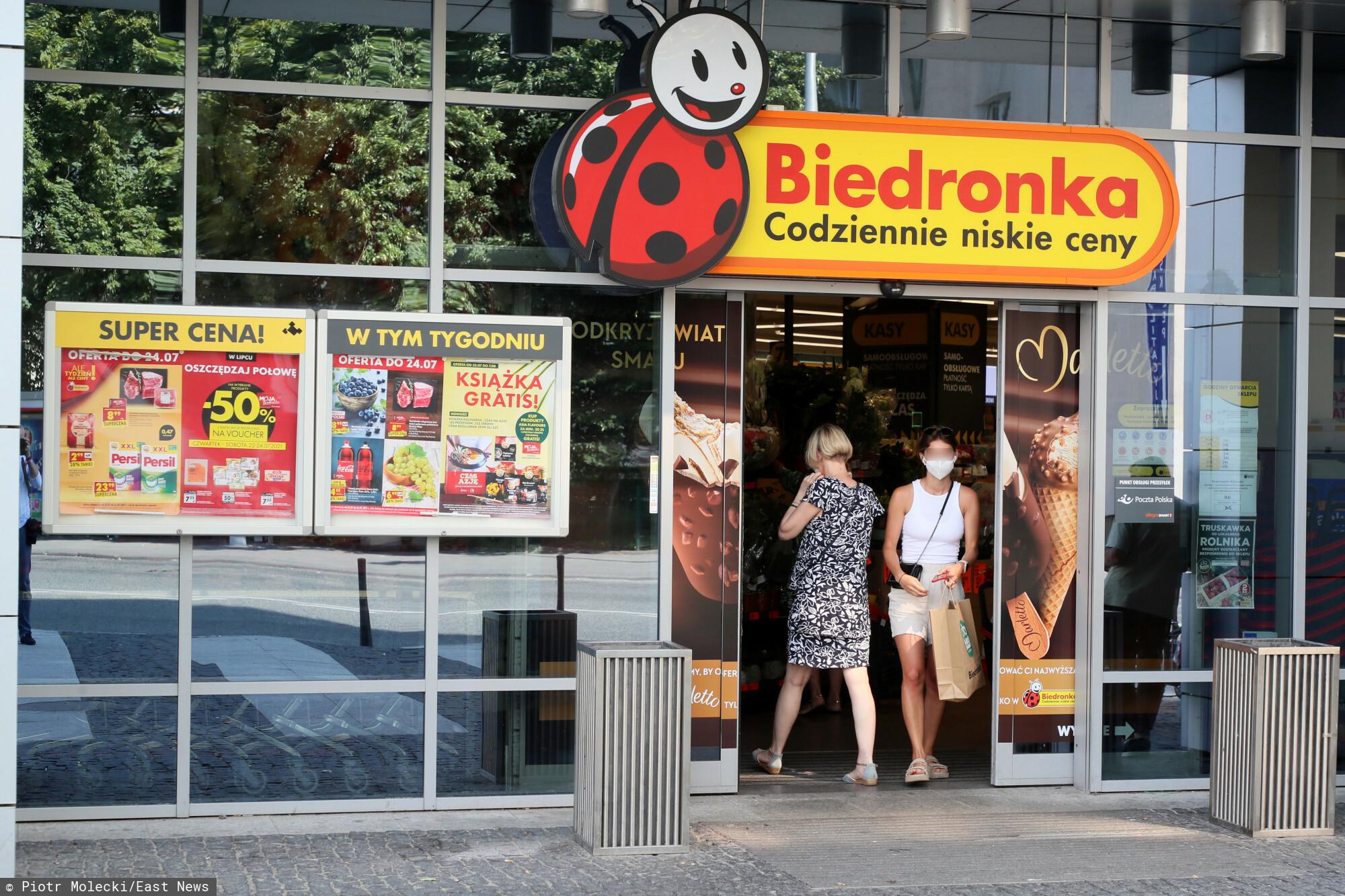 Lista sklepów sieci Biedronka otwartych w niedzielę niehandlową