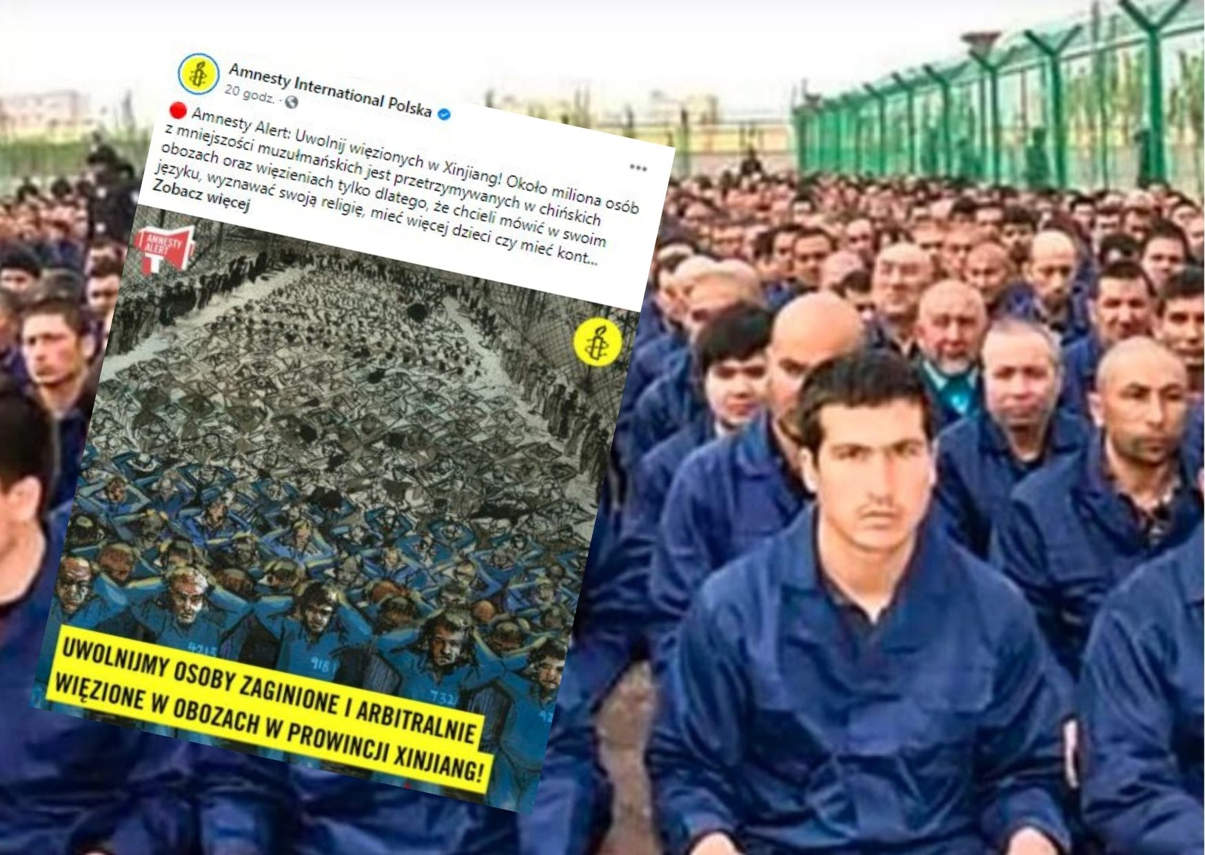 amnesty international - ujgurowie