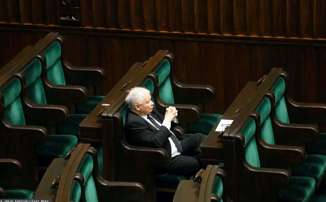 Jarosław Kaczyński chciał podać się do dymisji?