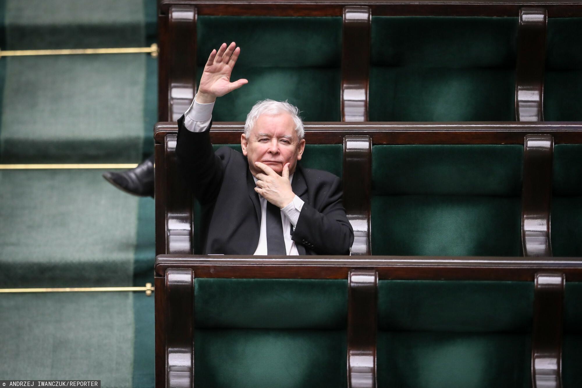 następca Jarosława Kaczyńskiego