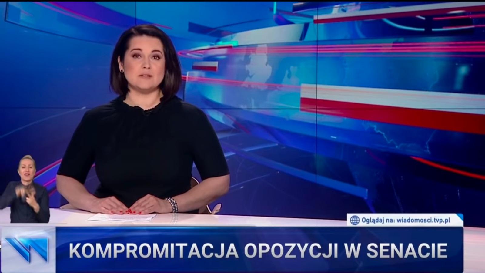"O opozycji we ""Wiadomościach"" TVP"