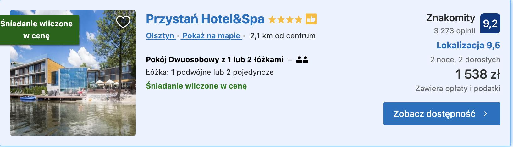 Olsztyn Przystan weekend