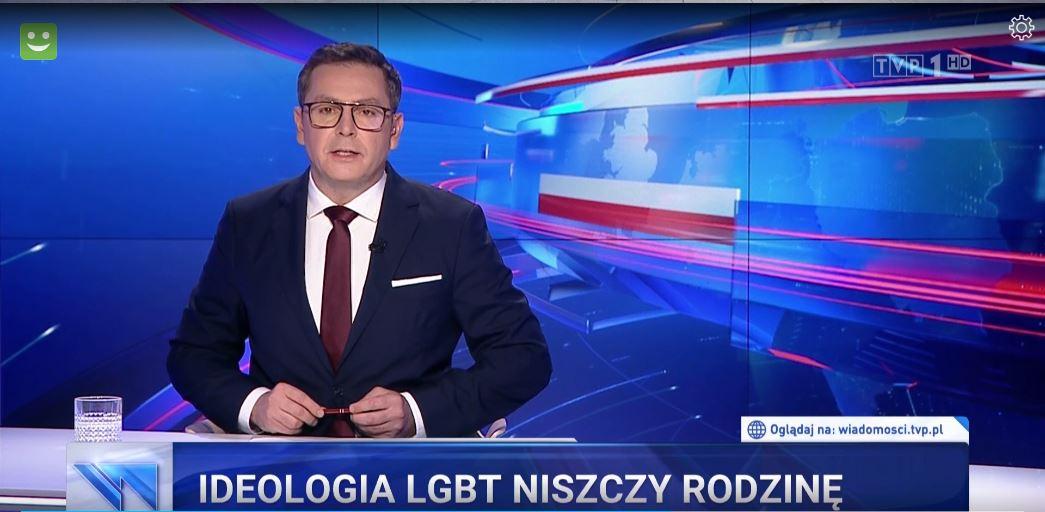 Wiadomości TVP  TVN