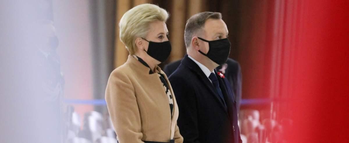 Agata i Andrzej Duda mieli zaszczepić się w Pałacu Prezydenckim.