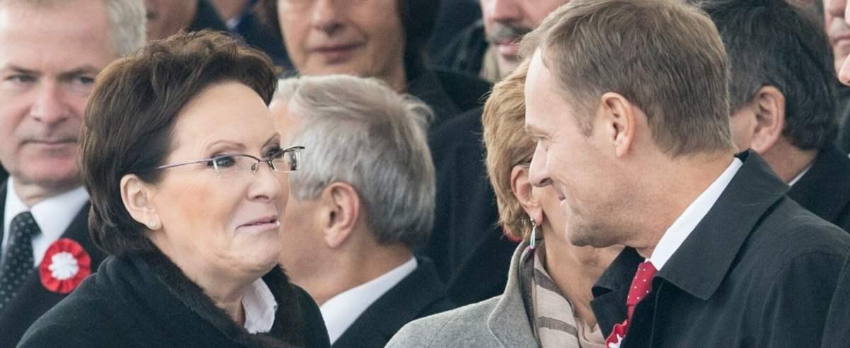 Donald Tusk o Ewie Kopacz