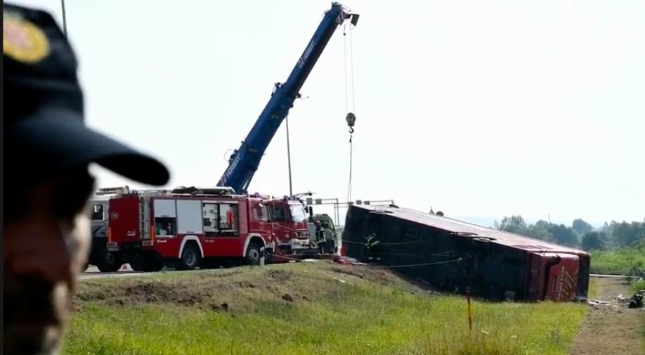 W Chorwacji doszło do wypadku autokaru, nie żyje 10 osób
