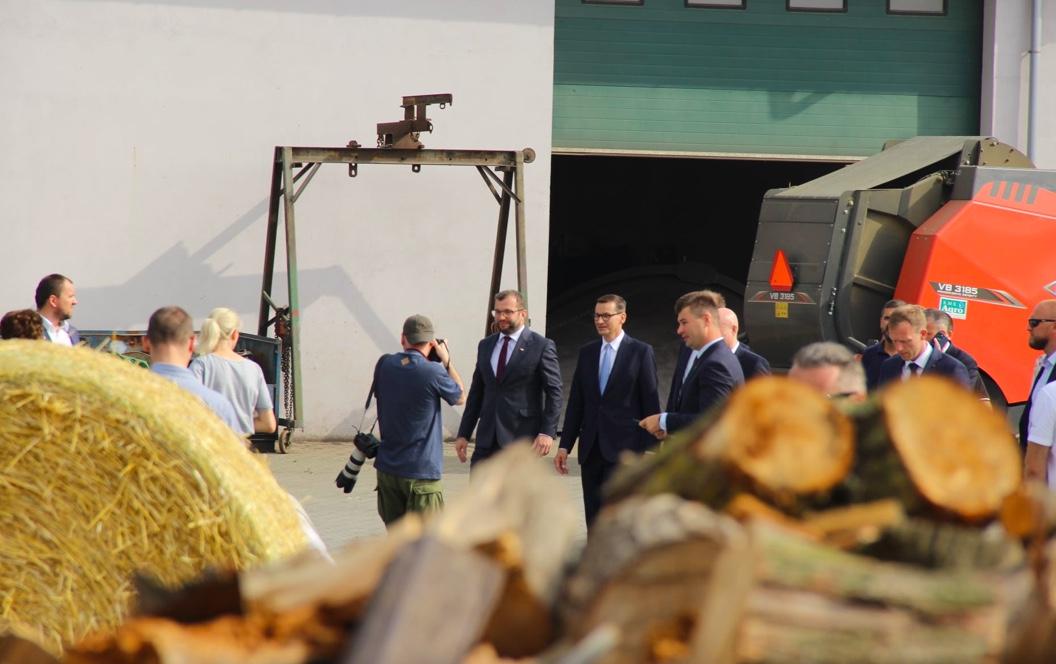 Agrounia przyjechała za premierem Mateuszem Morawieckim do Wielkopolski