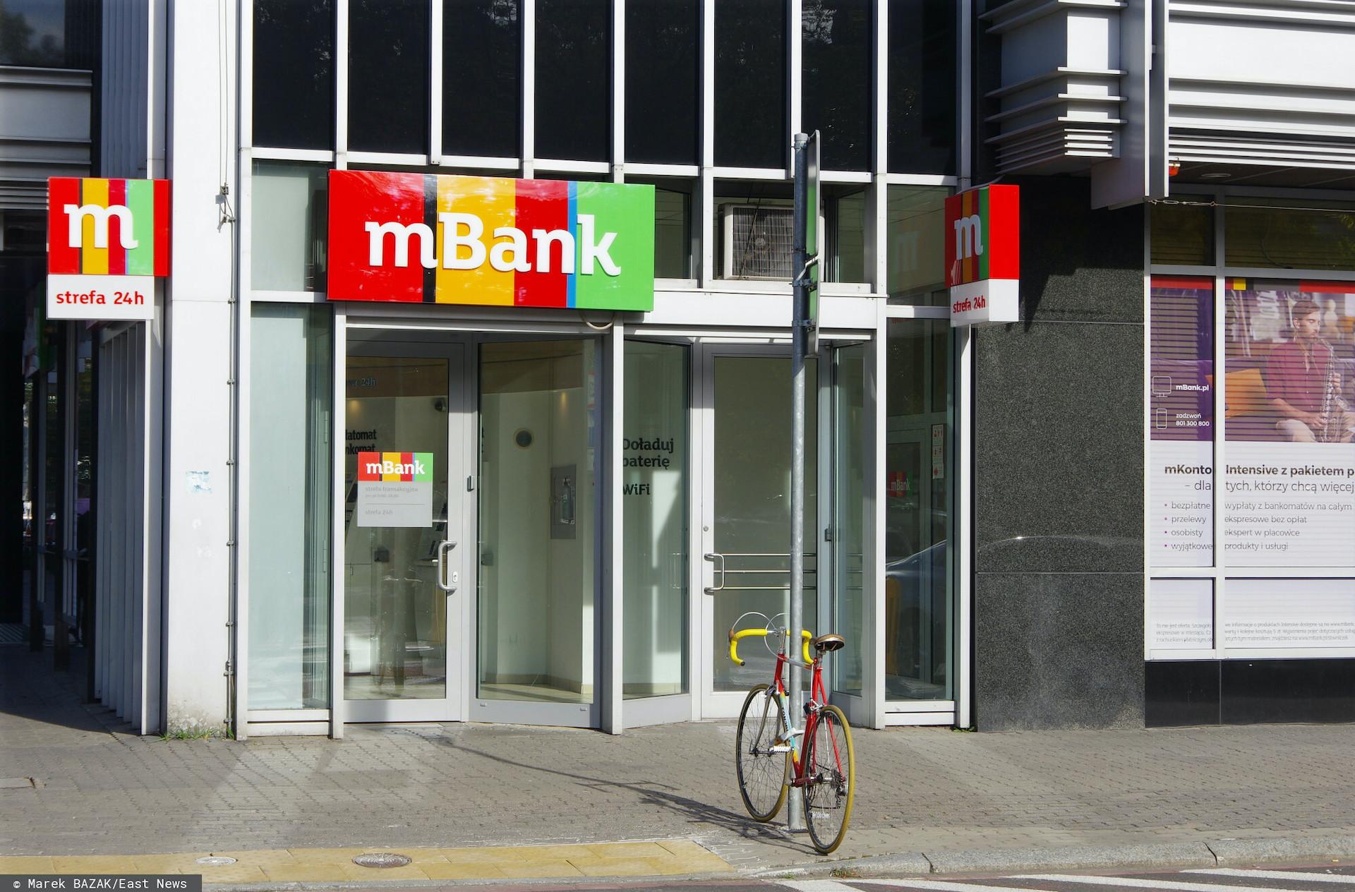 Poważna awaria w mBanku