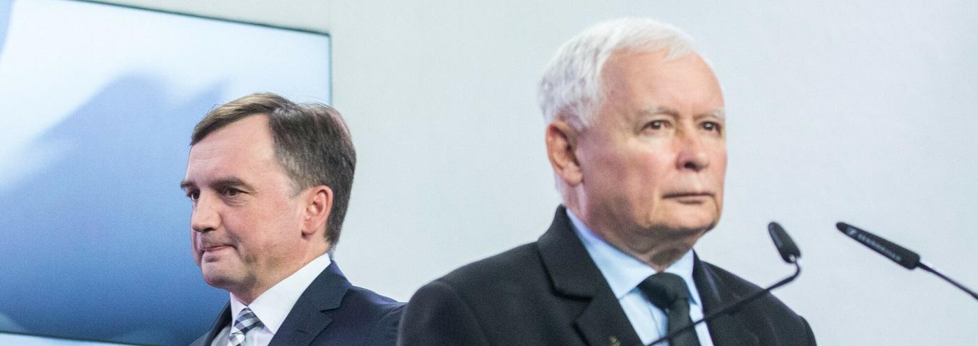 Zbigniew Ziobro vs Zjednoczona Prawica