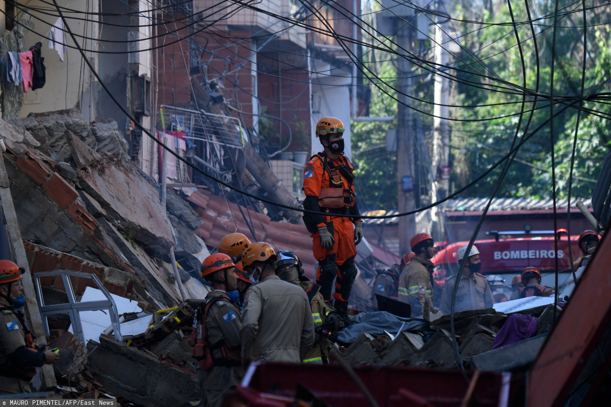 Katastrofa w Rio de Janeiro