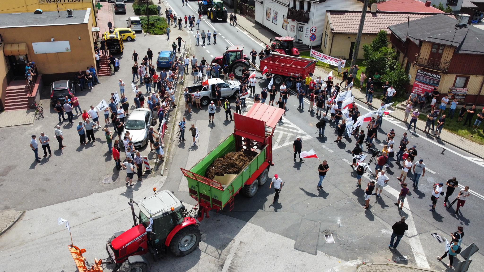 Protest Agrounii
