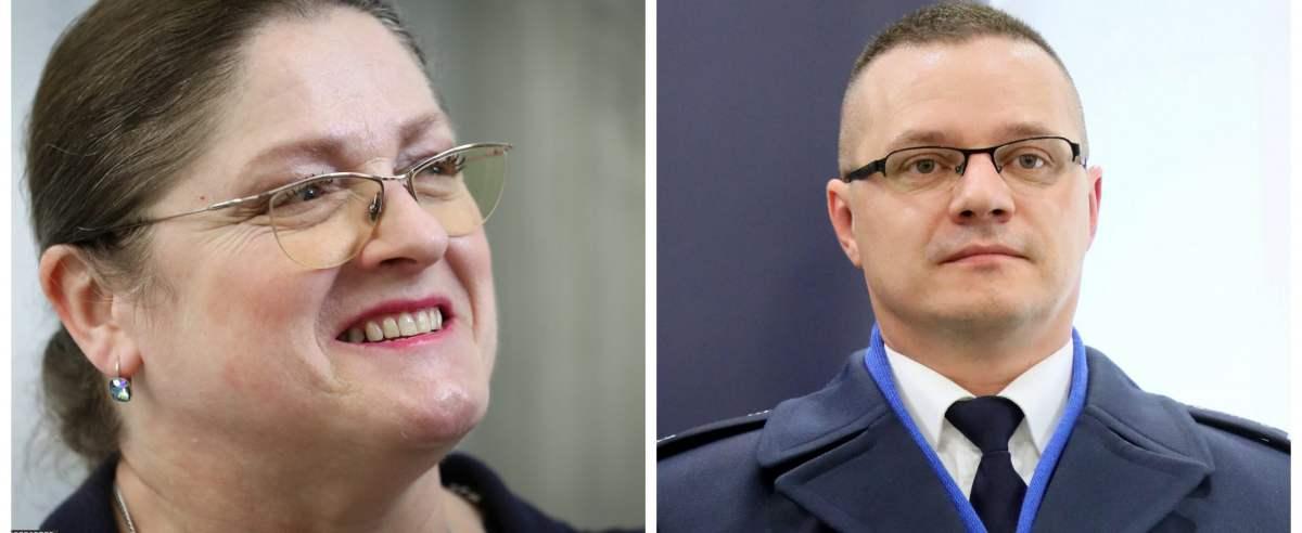 Rzecznik KGP i Krystyna Pawłowicz