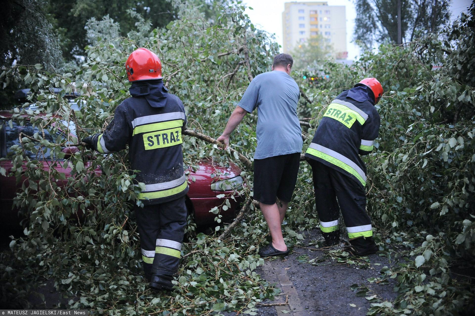 W środę w Polsce wystąpić mogą silne burze