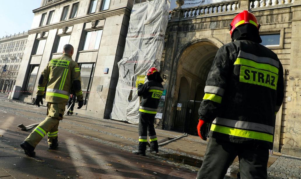 W niedzielę rano w jednej z kamienic w Katowicach wybuchł pożar
